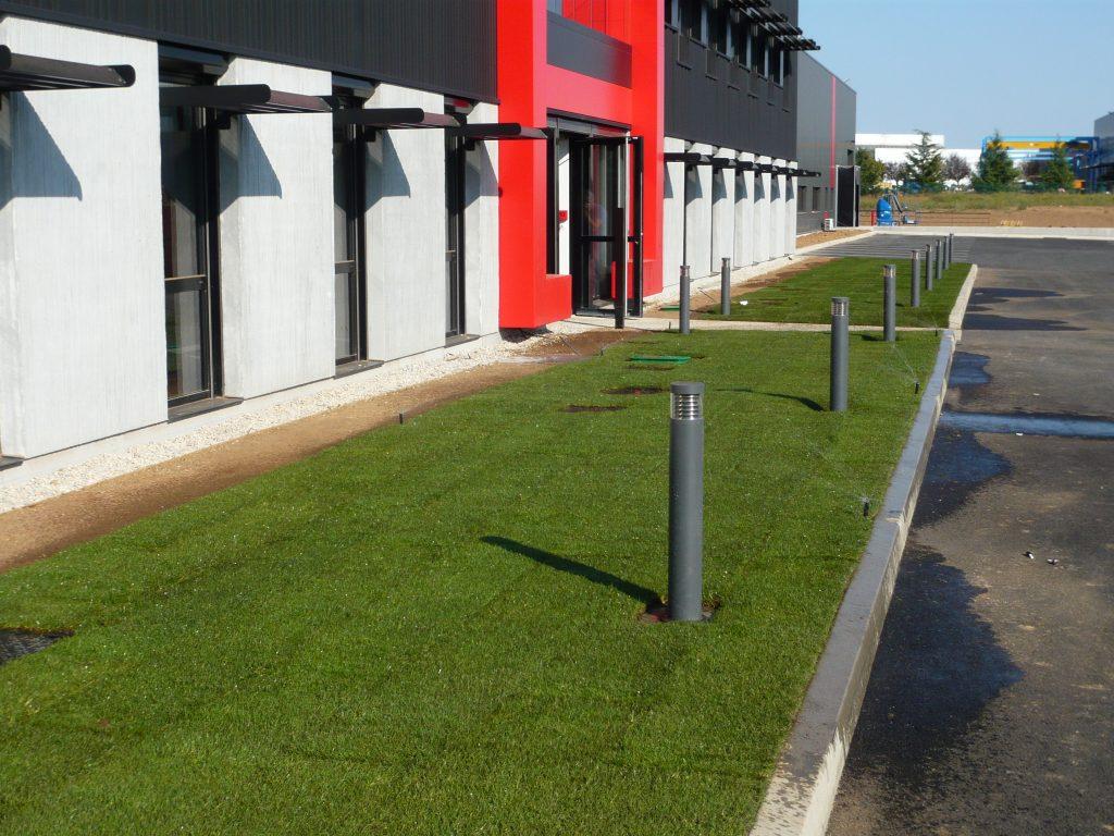 aménagement espaces verts Lyon